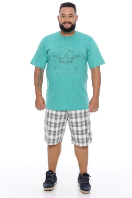 Camiseta Masculina Plus Size Rod