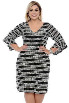 Vestido Plus Size Sylvia