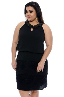 Vestido Plus Size Danielle