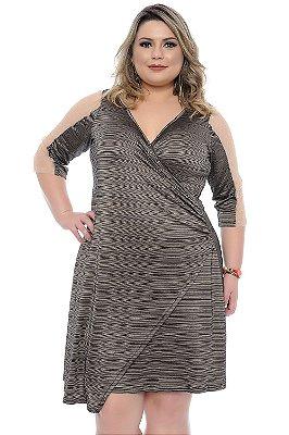 Vestido Plus Size Kiara
