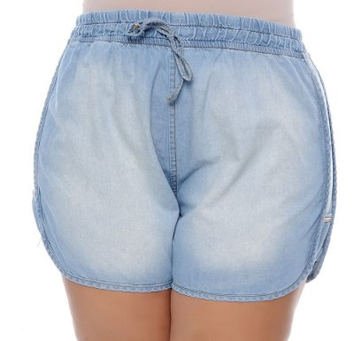Shorts Plus Size Nin