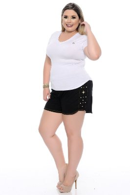 Shorts Plus Size Mily