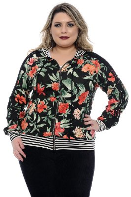 Bomber Plus Size Beatrice