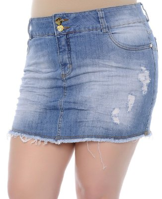 Shorts Saia Plus Size Dana