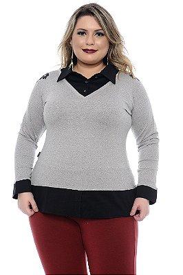 Blusa Plus Size Jordana