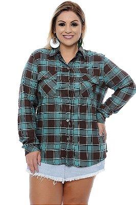 Camisa Plus Size Mary