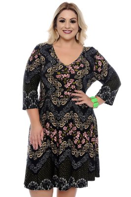 Vestido Plus Size Ainara