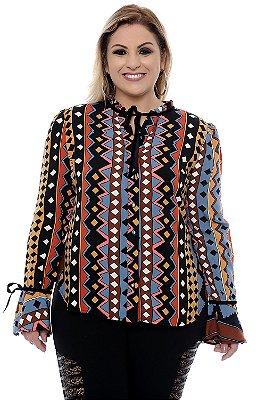 Camisa Plus Size Casamira