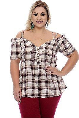 Blusa Plus Size Rosita