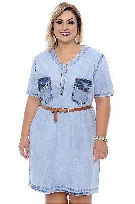 Vestido Jeans Plus Size Amy