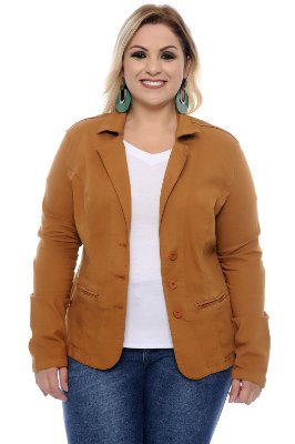 Blazer Plus Size Madalen
