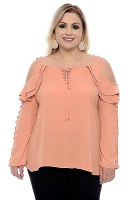 Blusa Plus Size Sandrine