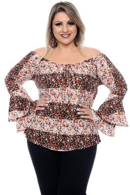 Blusa Plus Size Gina