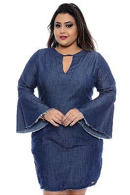 Vestido Jeans Plus Size Karina