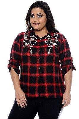 Camisa Plus Size Delha