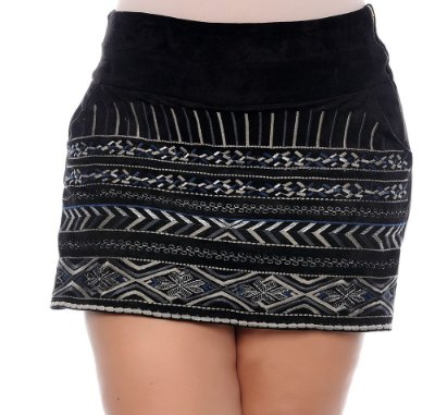 Shorts Saia Plus Size Valéria
