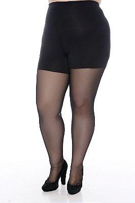 Meia-Calça Modeladora Plus Size Fabiana