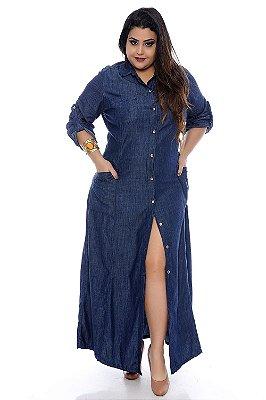 Vestido Jeans Plus Size Alexandra