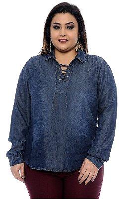 Camisa Plus Size Gadine