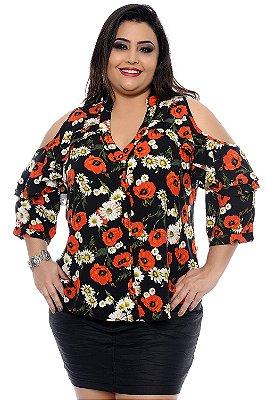 Blusa Plus Size Jurema