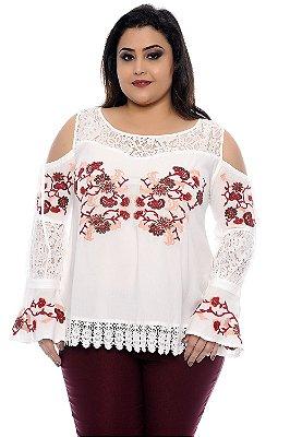 Blusa Plus Size Zaila