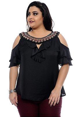 Blusa Plus Size Francine
