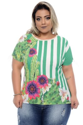 Blusa Plus Size Hilary