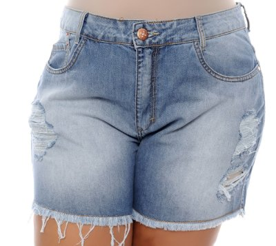 Shorts Jeans Plus Size Telma
