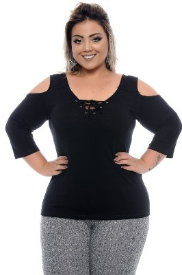 Blusa Plus Size Thessa