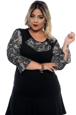 Blusa Plus Size Soraya