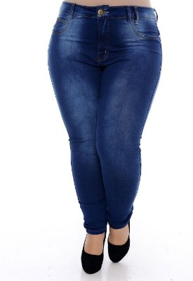 Calça Jeans Plus Size Elize