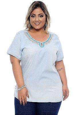 Blusa Plus Size Aramis