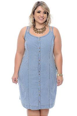 Vestido Jeans Plus Size Karolyn