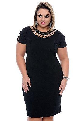 Vestido Plus Size Blanda