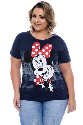 Blusa Plus Size Minnie Marinho