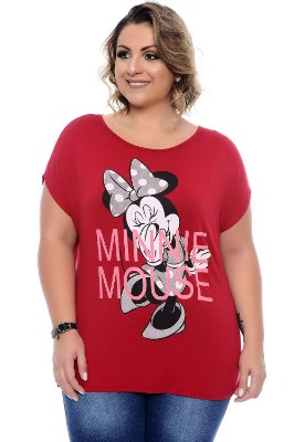 Blusa Plus Size Minnie Mouse