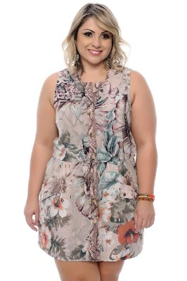 Vestido Plus Size Ladyana