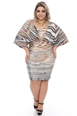 Vestido Plus Size Kilza