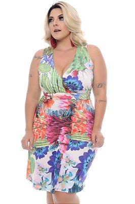 Vestido Plus Size Malvezzi