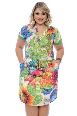 Vestido Plus Size Cybelle