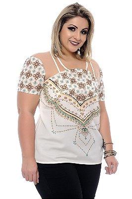 Blusa Plus Size Clarissa