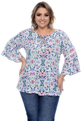 Blusa Plus Size Dafiny