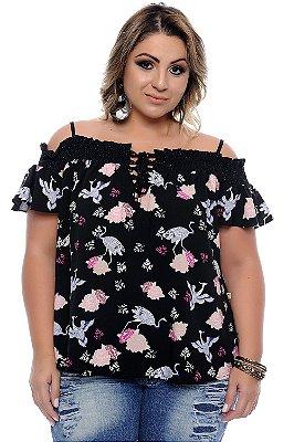Blusa Plus Size Karmona