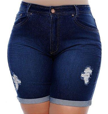 Bermuda Jeans Plus Size Angele