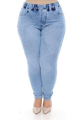 Calça Legging Jeans Plus Size Glauce