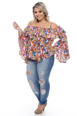Blusa Plus Size Lianni