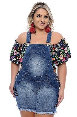 Jardineira Plus Size Maryanni