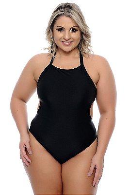 Maiô Plus Size Black
