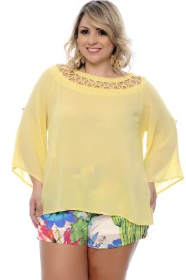 Blusa Plus Size Hivana
