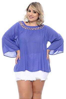 Blusa Plus Size Ohana